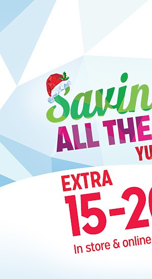 Savings All the Way - Yule Love It!