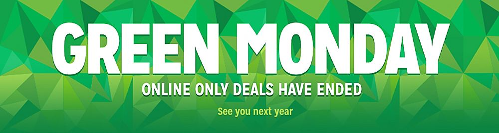 Green Monday Awesome December Deals is over.  See you next year.