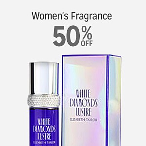 50% off Women's Fragrance