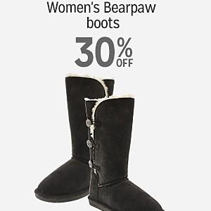 30% off Women's Bearpaw boots