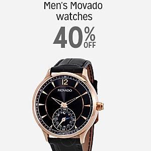 40% off and more on Men's Movado watches