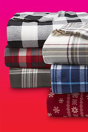 Up to 40 % off Blankets and Throws