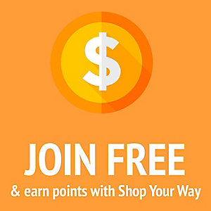 JOIN FREE & earn points with Shop Your Way