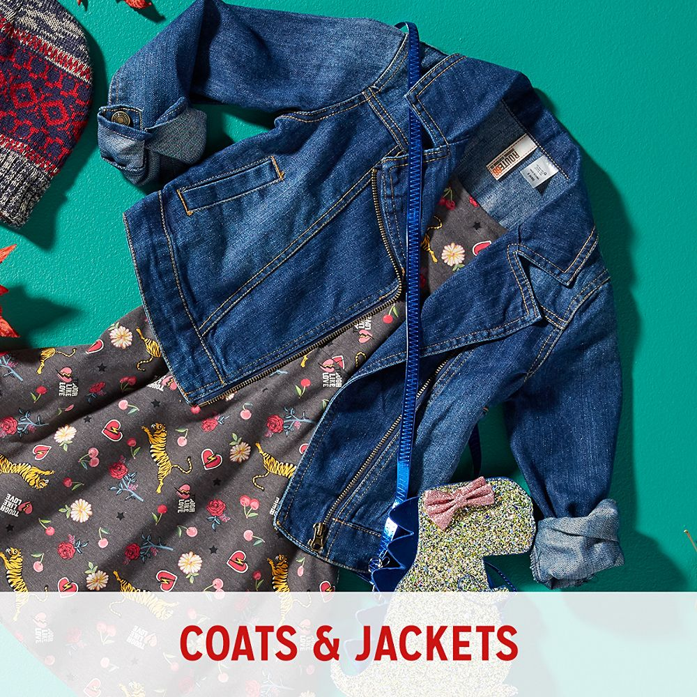 Girls' Coats and Jackets
