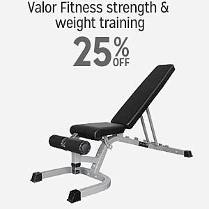 25% off Valor Fitness strength & weight training