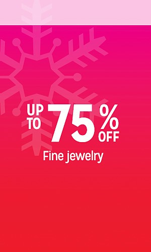 up to 75% off fine jewelry | Extra 10% off online with code SAVE10