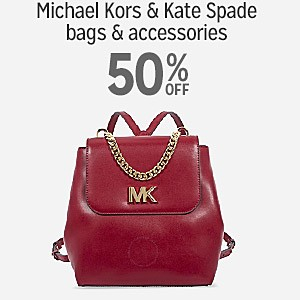 50% off Michael Kors & Kate Spade bags & accessories