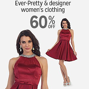 60% off Ever-Pretty & Designer women's clothing