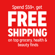 Free Shipping $59+