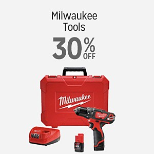 Milwaukee tools 30% off
