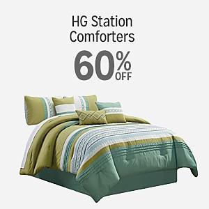 HG station comforters 60% off