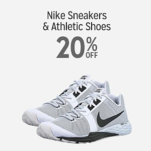 Nike sneakers for the family 20% off