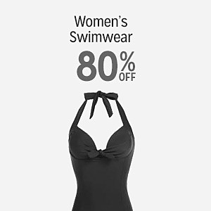 Women's swimwear 80% off