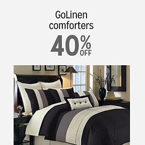 GoLinen comforters 30% off