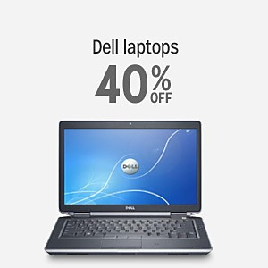 Dell laptops 40% off