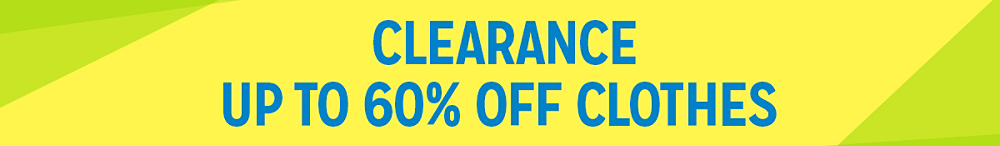 Clearance | Up to 60% off clothes
