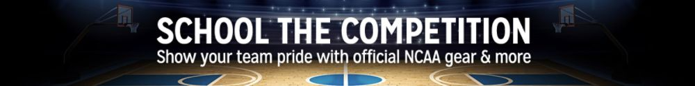 School the Competition Show your team pride with official NCAA gear & more