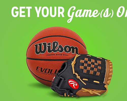 Featured sporting goods up to 15% off