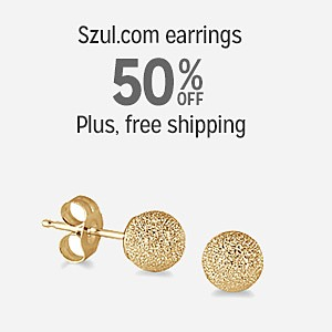 50% off szul.com earrings with FREE SHIPPING