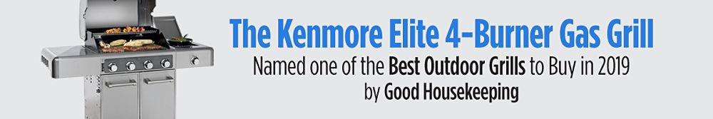The Kenmore Elite 4-Burner Gas Grill