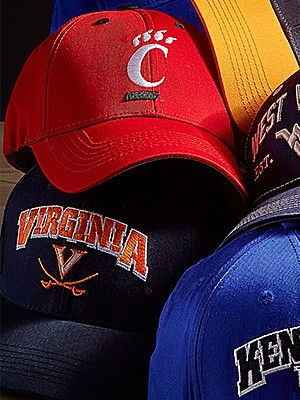 NCAA team clothing & gear starting at $12.99