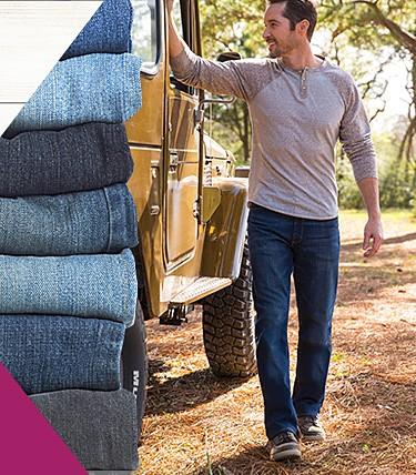 7ab5d369c65 Wrangler jeans starting ...