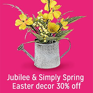 Easter Jubilee & Simply Spring decor 30% off