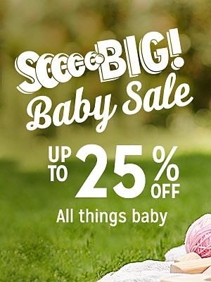 Baby Sale | up to 25% off all things baby