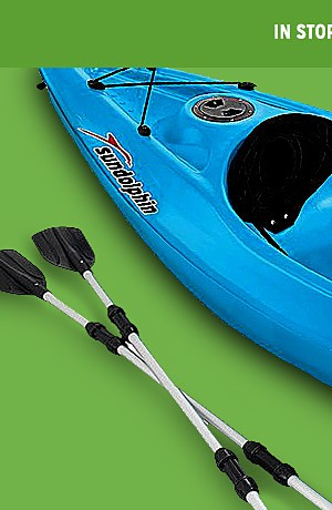 online only | featured kayaks 15% off