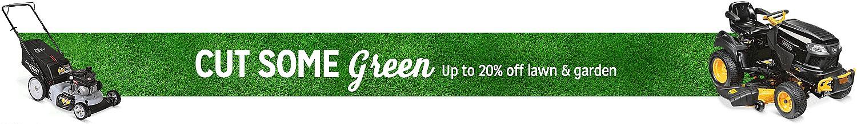Online only | 20% off lawn & garden
