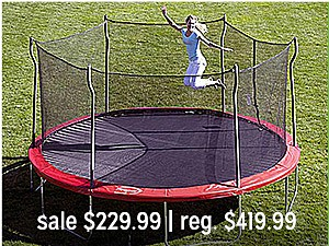 Outdoor play up to 30% off
