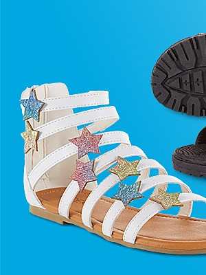 Sandals up to 40% off