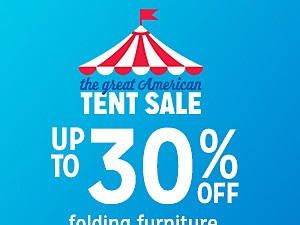 up to 30% off folding furniture | online only extra 10% off with code FIREWORKS