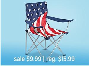 camp chair sale $9.99 | reg $15.99
