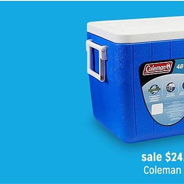 Coleman 48 qt. Chest Cooler $24.99 | reg $31.99