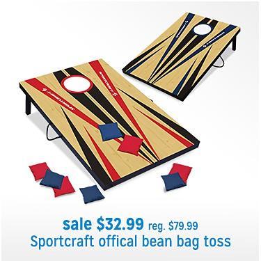 Sportcraft Official Bean Bag Toss sale $32.99 | reg $79.99