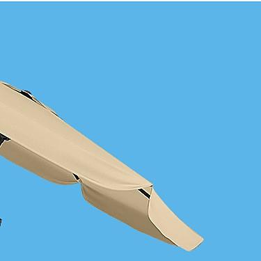 CorLiving 10ft Round Tilting Patio Umbrella Sale $79.99 | reg $114.99