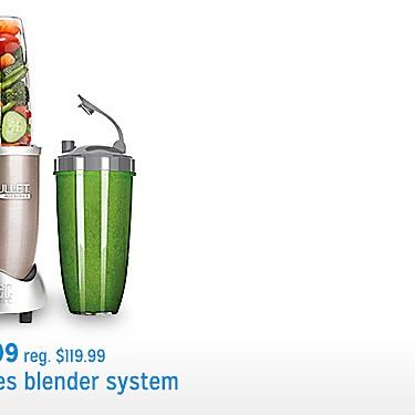NutriBullet pro series blender system sale $84.99 reg. $119.99
