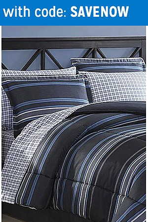 Comforters up to 40% off
