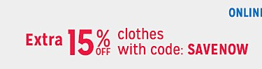 Extra 15% off with code SAVENOW