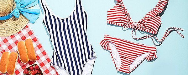 up to 40% off swimwear for the family