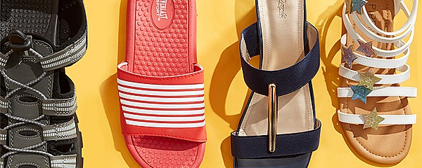 up to 40% off sandals