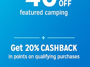 Camping & Hiking up to 40% off