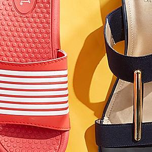Sandals & flip flops up to 40% off