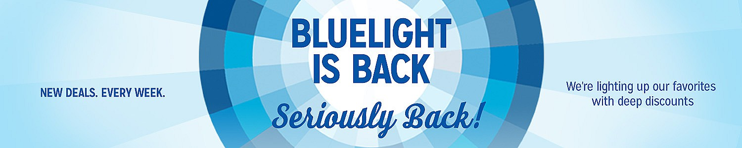 Bluelight Specials are back