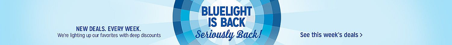 Blulight Specials are back | Check out this week's specials