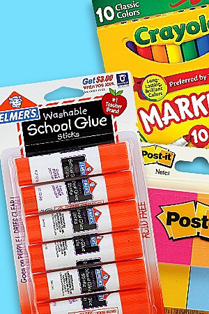 school supplies under $5