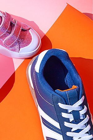 Kids' shoes starting at $9.99