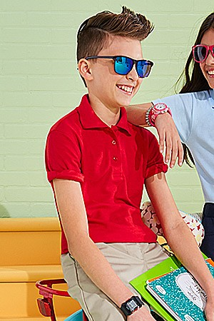 Kids' school uniforms 40% off Extra 10% off with code: LABORDAY
