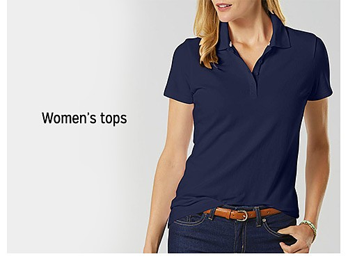 up to 60% off women's tops